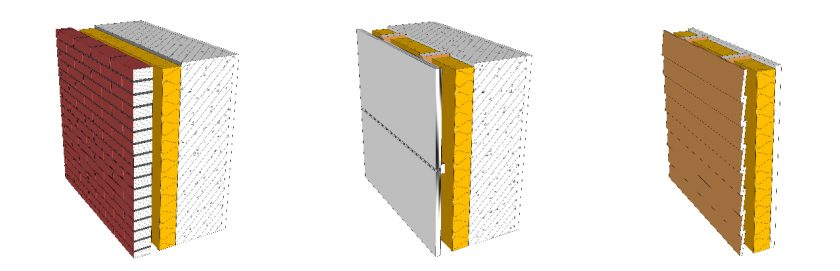 Ventilated facade - heated buildings - BFirst
